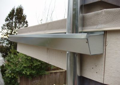 custom bent gutter